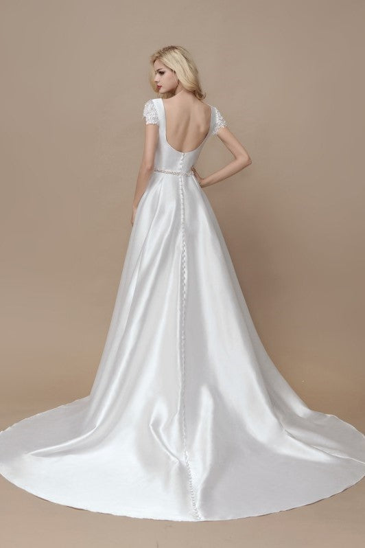 a-line-satin-formal-wedding-gown-with-lace-sleeves-1