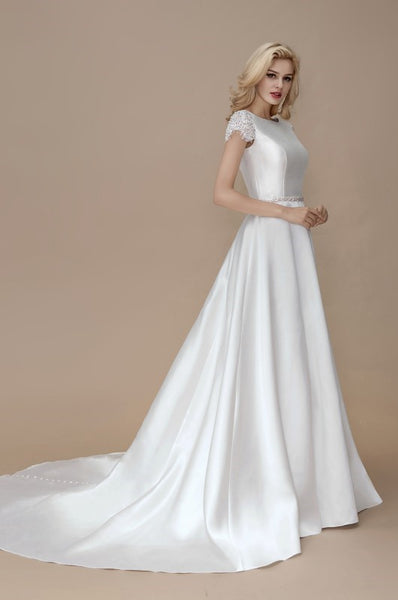 a-line-satin-formal-wedding-gown-with-lace-sleeves-2