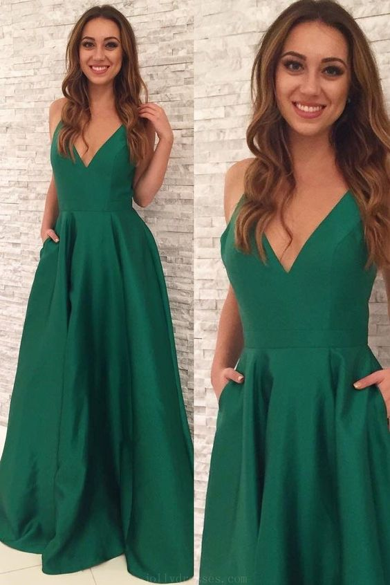 a-line-satin-green-formal-evening-gown-with-pockets-1