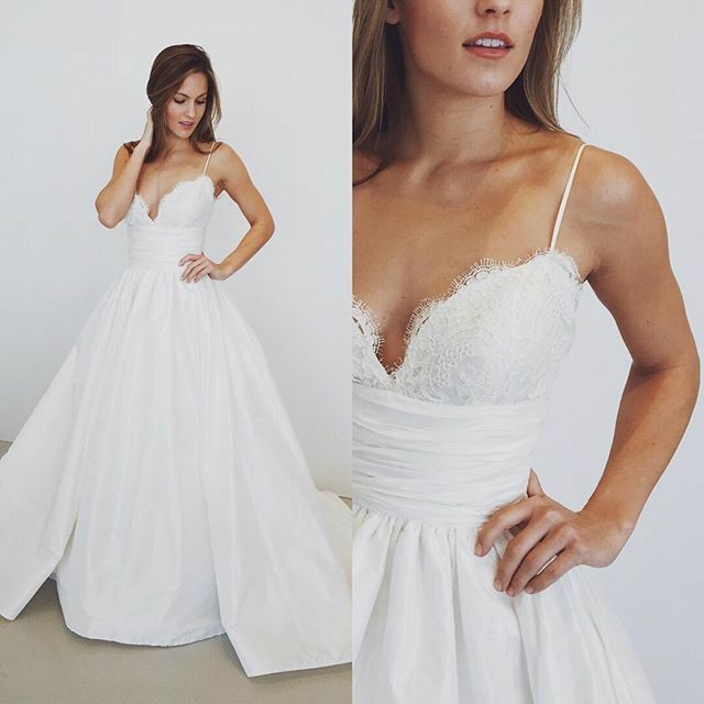 a-line-spaghetti-straps-lace-taffeta-wedding-dress-with-chapel-train-1