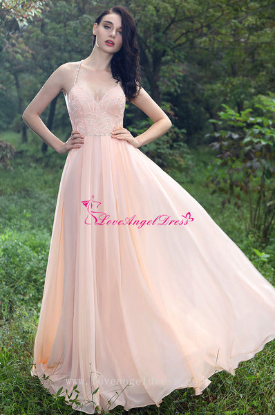 a-line-sweetheart-beaded-crystals-pink-chiffon-prom-gown