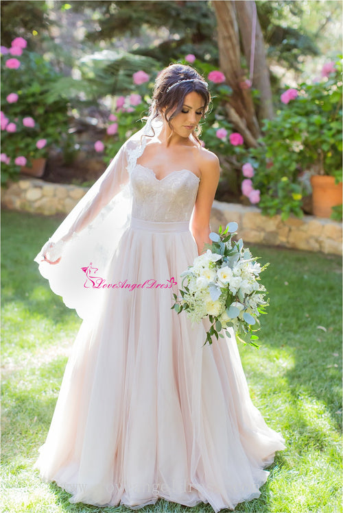 a-line-sweetheart-lace-destination-wedding-dress-with-tulle-skirt
