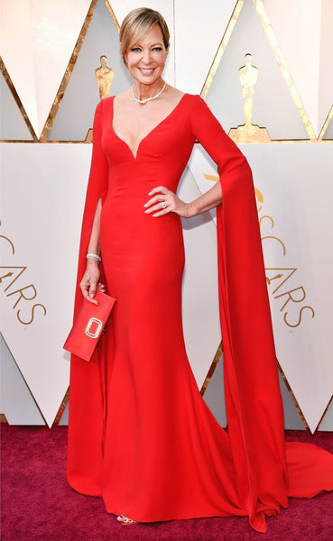 allison-janney-oscar-red-carpet-dresses-with-long-sleeves