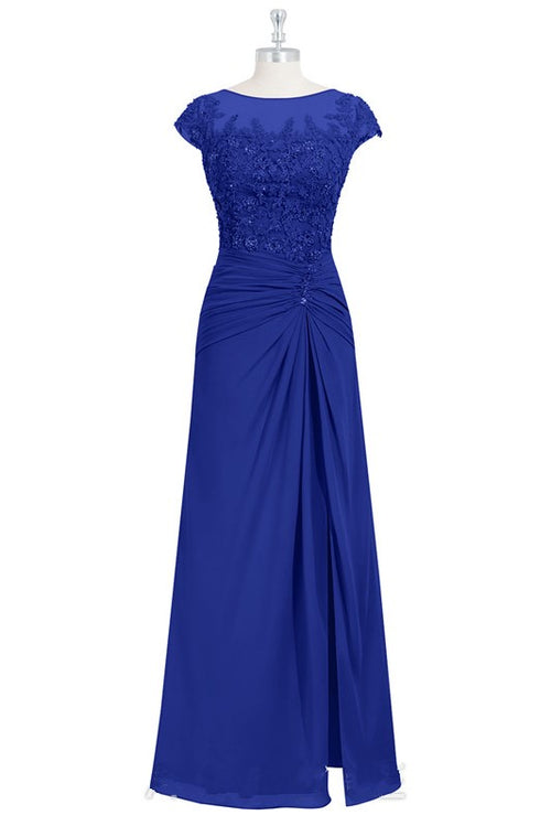 appliqued-beaded-royalblue-mother-of-the-bride-dress-cap-sleeves