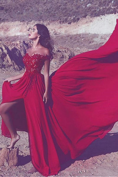 appliques-lace-red-long-prom-dress-with-off-the-shoulder