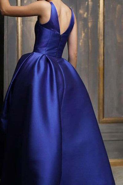 asymmetrical-ankle-length-satin-prom-gown-royal-blue-1