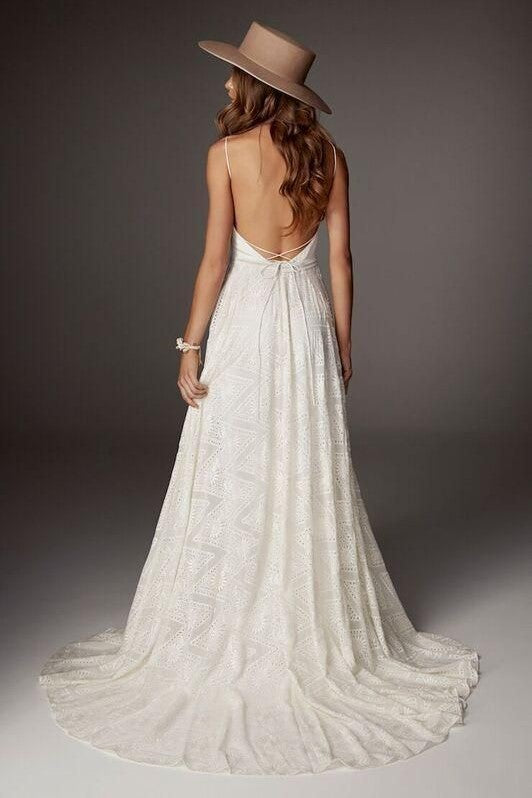 backless-boho-lace-wedding-dress-with-v-neckline-1