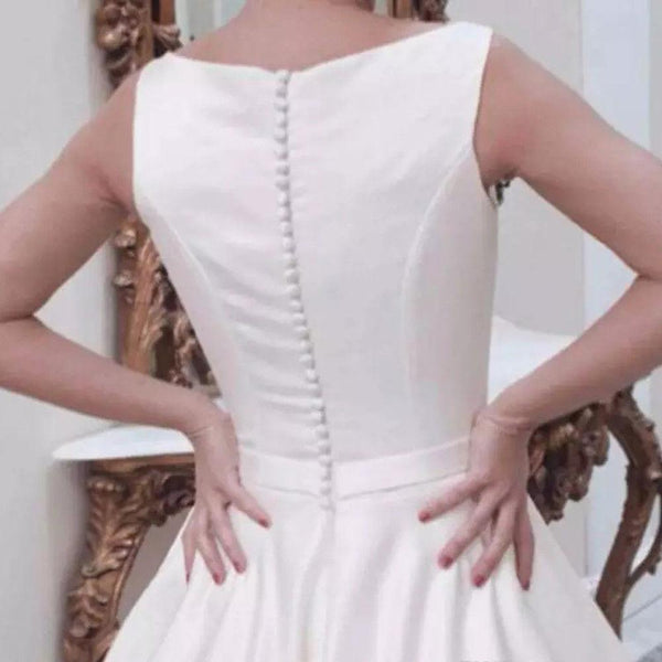 bateau-white-satin-bridal-dresses-with-fabric-buttons-back-2