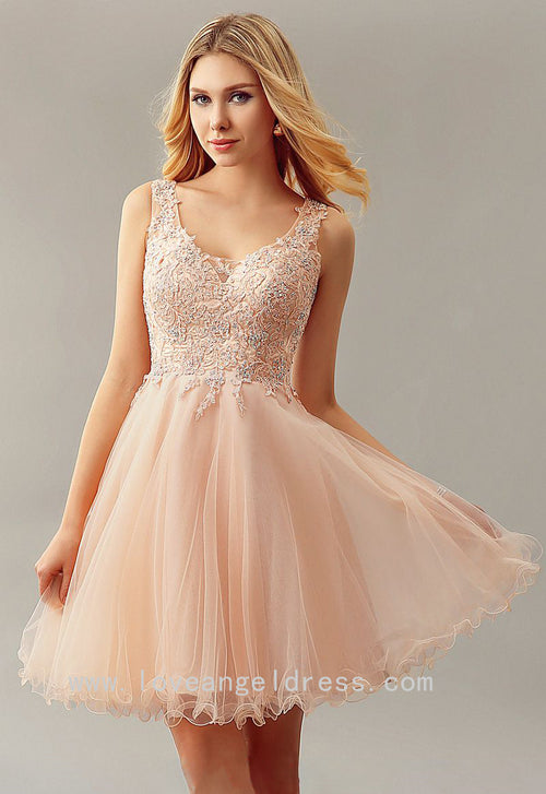 beaded-appliqued-tulle-blush-homecoming-gown-short-party-dress