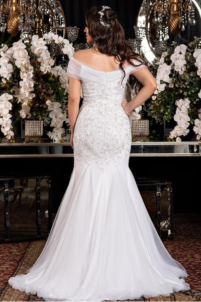 beaded-appliques-off-the-shoulder-wedding-dress-fit-flare-skirt-1