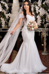 beaded-appliques-off-the-shoulder-wedding-dress-fit-flare-skirt