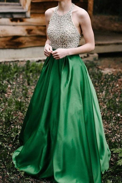 beaded-bodice-green-prom-dress-with-halter-strap-1