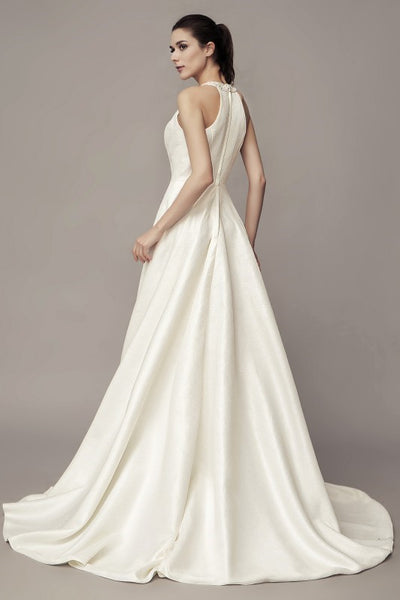 beaded-halter-satin-bridal-gown-with-sweep-train-1