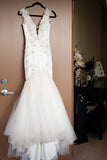 beaded-lace-mermaid-wedding-gown-with-plunging-v-neckline-2