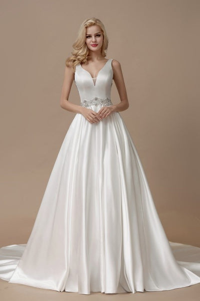 beaded-satin-wedding-gown-with-illusion-back