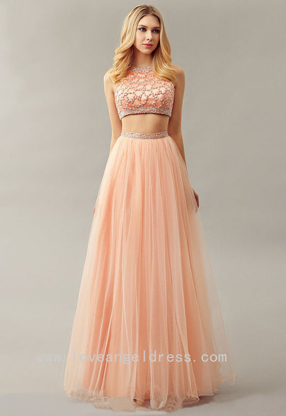 beaded-top-sleeveless-blush-prom-dress-two-piece