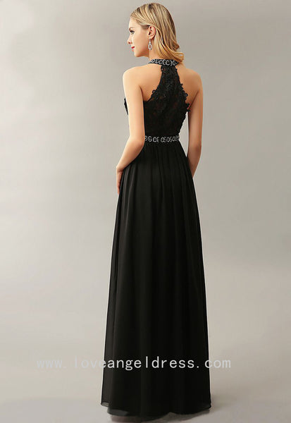 beading-high-neck-lace-chiffon-black-prom-dresses-online-1