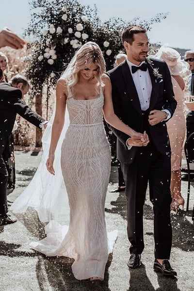 beading-sequin-wedding-dresses-with-square-neck