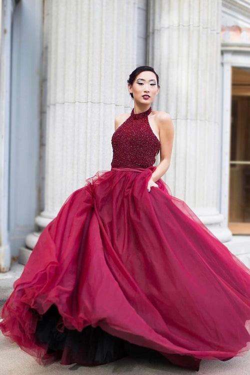 beads-halter-a-line-burgundy-evening-prom-dress-backless