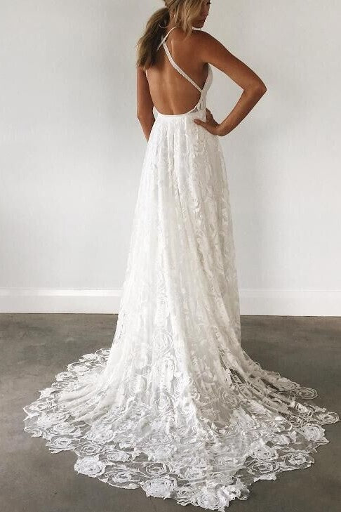 beautiful-lace-boho-wedding-gown-with-halter-straps-1