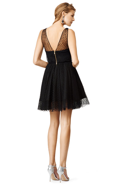 black-dots-tulle-homecoming-gown-with-v-neckline-2