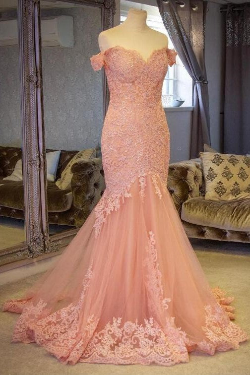 blush-pink-lace-mermaid-evening-gown-dress-with-off-the-shoulder-1