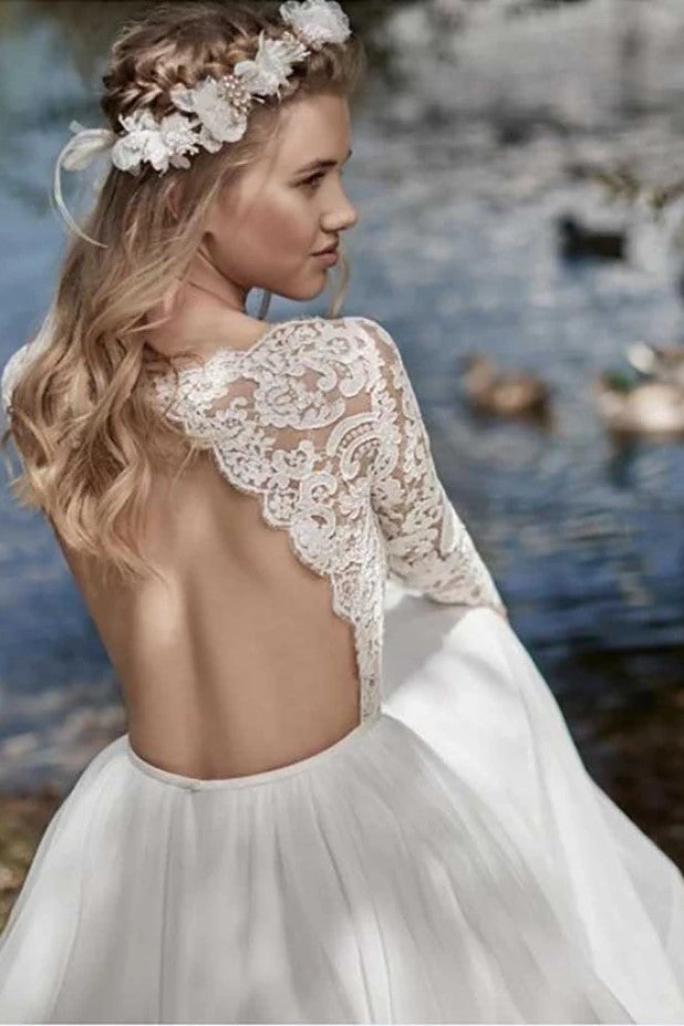 boho-lace-long-sleeves-wedding-dress-2019-robe-de-mariee-1