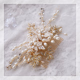bridal-golden-hair-comb-beaded-pearl-wedding-accessories