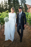 buttons-long-sleeves-modest-sheath-bridal-dress-wedding