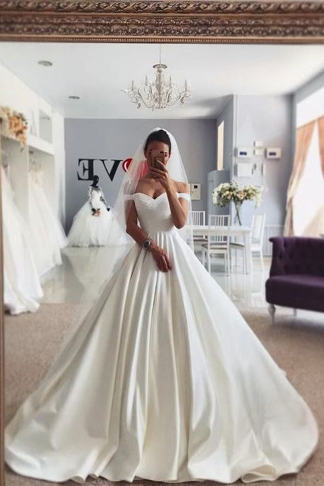 chic-satin-princess-wedding-gown-dress-with-off-the-shoulder