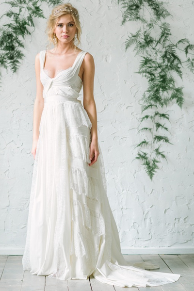 chiffon-and-lace-beach-wedding-dresses-2019