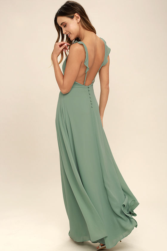 chiffon-long-sage-bridesmaid-gown-double-straps-maxi-dresses-1