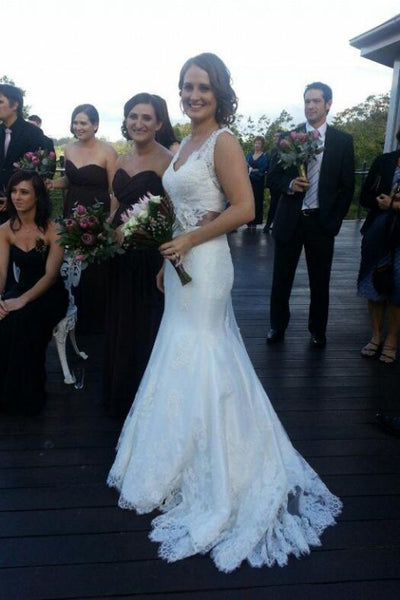 lace-wedding-dress-with-flower-sash