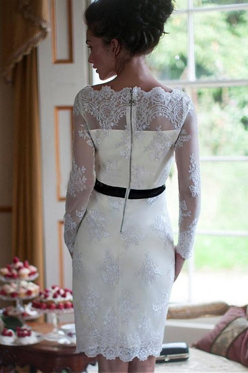 close-fitting-lace-short-wedding-dress-with-long-sleeves-1