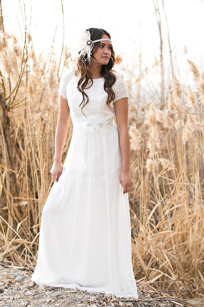 crystals-short-sleeves-chiffon-boho-wedding-dresses-outside