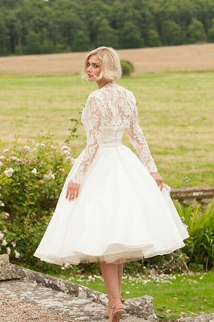 curved-strapless-short-wedding-gown-with-lace-jacket-1