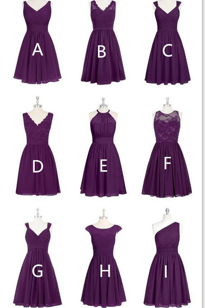 custom-made-short-long-chiffon-bridesmaid-dress-mismatched