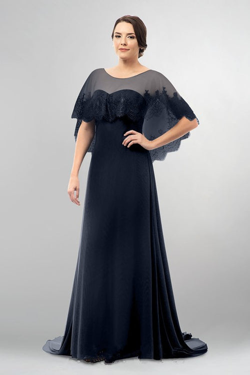 f8661b3b7a dark-navy-mothers-wedding-party-dresses-with-lace-