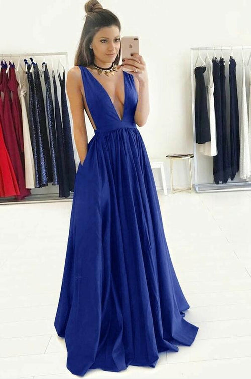 deep-v-neck-a-line-royal-blue-long-prom-gowns