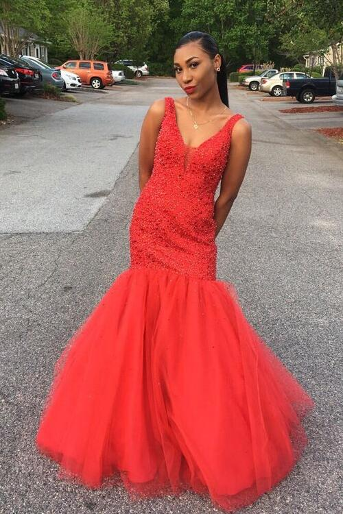 4692116a113 deep-v-neckline-beaded-long-prom-gowns-with-