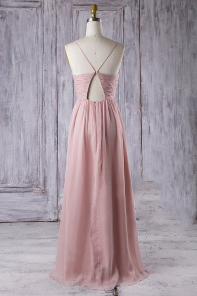dream-long-chiffon-bridesmaid-dress-with-ruched-bodice-1