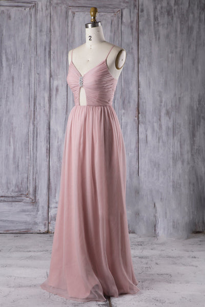 dream-long-chiffon-bridesmaid-dress-with-ruched-bodice