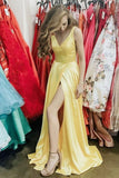 elegant-long-yellow-prom-gown-with-leg-slit-side-1