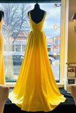 elegant-long-yellow-prom-gown-with-leg-slit-side
