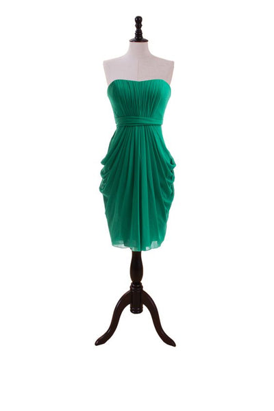 emerald-green-bridesmaid-dress-short-draped-chiffon-1