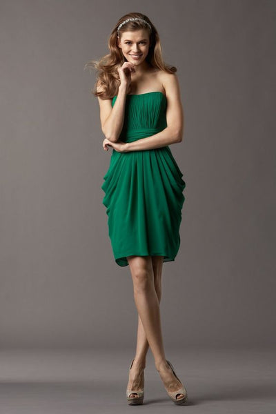 emerald-green-bridesmaid-dress-short-draped-chiffon