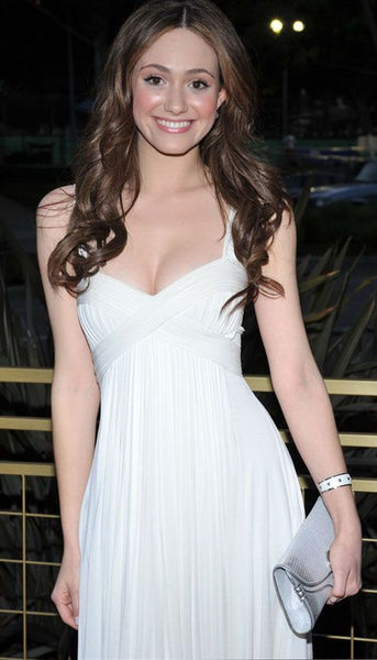 emmy-rossum-white-cocktail-dress