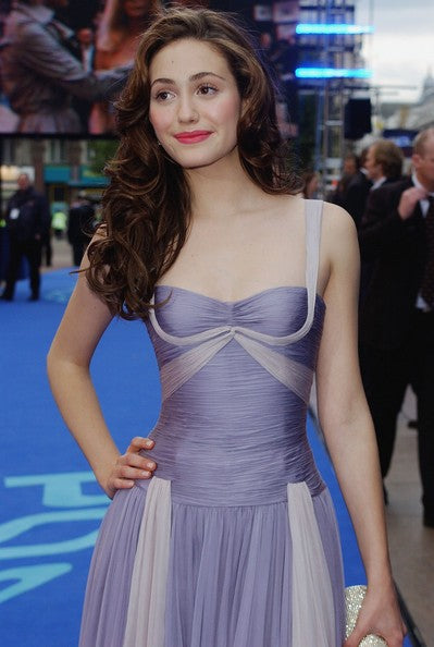 emmy-rossum-two-tone-tulle-cocktail-dresses