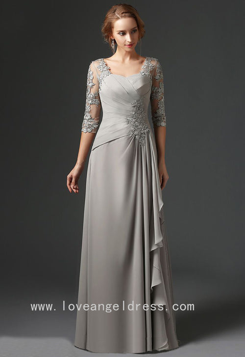 floor-length-chiffon-gray-mothers-formal-dress-with-lace-sleeves