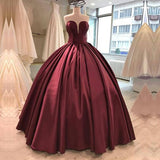 floor-length-satin-burgundy-ball-gown-evening-dresses-2